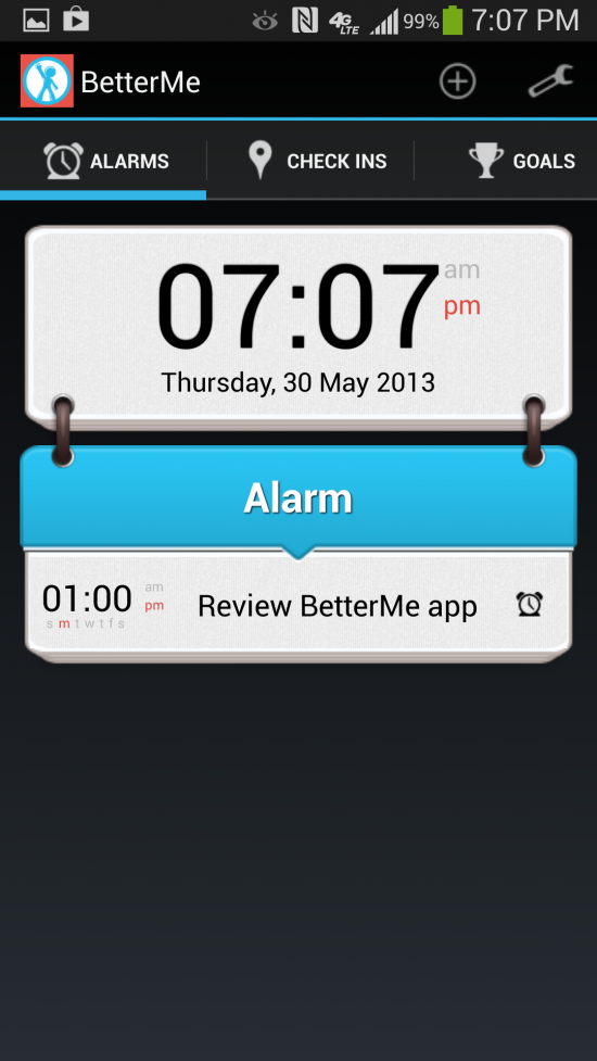 BetterMe – Social Alarm Clock. Use friends to help encourage behavior change