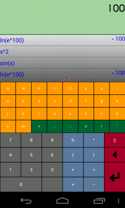 BisMig Calculator 3D - Calculator with keyboard