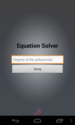 BisMig Calculator 3D - Equation solver