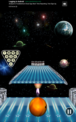 Bowling Paradise Pro FREE - Outer Space