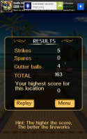 Bowling Paradise Pro FREE - Results