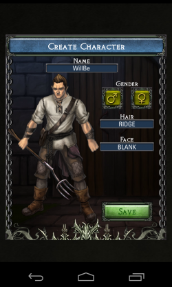 Dawn of the Dragons - Customise your character (1)