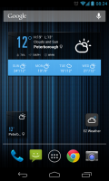 EZ Weather HD - Widget customisation (1)