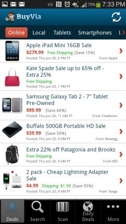 Free Find Best Price App BuyVia - Online Deals