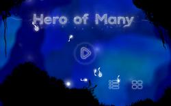 Hero of Many - Start Screen