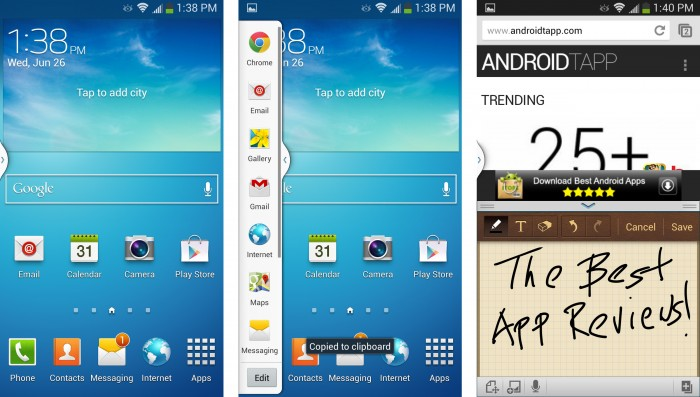 How to Use Two Apps at the Same time on Samsung Galaxy S4