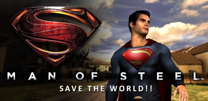 (New Game) Man of Steel official game available in Google Play