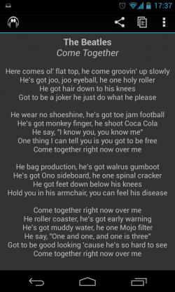 Mono - Lyrics