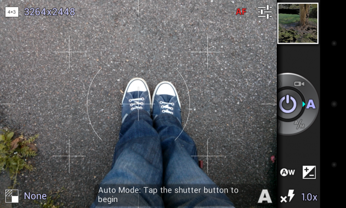 PerfectShot – an advanced camera app for Android