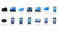 Samsung GALAXY and ATIV Lineup