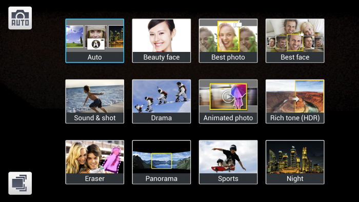 Samsung Galaxy S4 Camera Modes Expanded