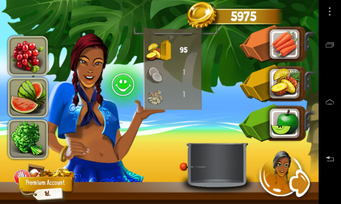 Shake Islands Adventure – a lushly animated drink mixing game