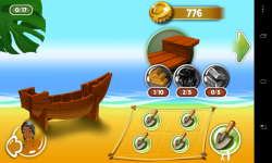 Shake Islands Adventure - Gradually build your vessel