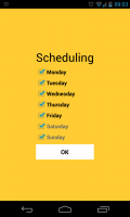 Warmly - Scheduling