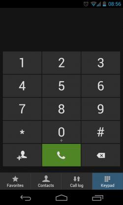 Yandex.Shell - Dialler