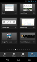 Yandex.Shell - Normal Google Play Store app widgets