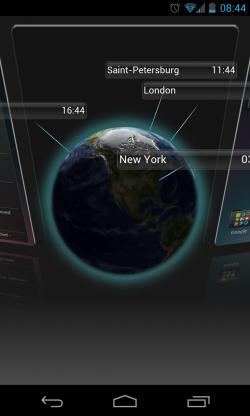 Yandex.Shell - World clock