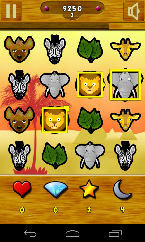 Zoolicious – strategy game far more challenging than the typical 3 in a row puzzler