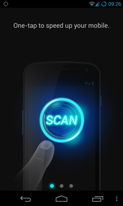 Advanced Mobile Care - Simple virus scanning