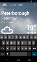 BBC Weather - Search location