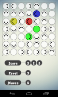 Circles - Remove circles via chain reactions for high scoring points and progression to the next level