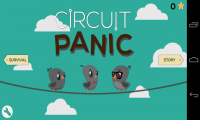 Circuit Panic - 2 modes of play