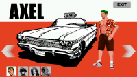 Crazy Taxi - Choose Player