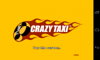 Crazy Taxi - Front screen