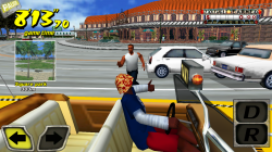 Crazy Taxi - Pick Up Passenger