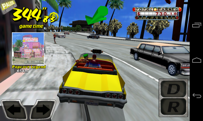 Crazy Taxi – one of the best games on Android!