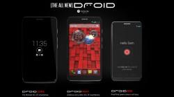 DROID MINI DROID ULTRA and DROID MAXX by Motorola