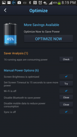 Du Battery Saver - Optimize