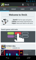 Fetch - Welcome