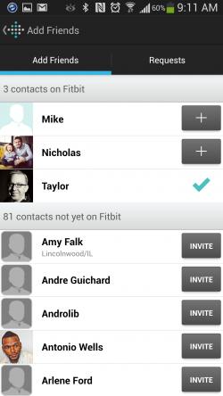 Fitbit - Find Friends