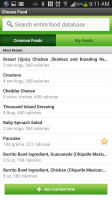Fitbit - Search for Individual Food Items