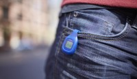 Fitbit Zip Attached to Pants