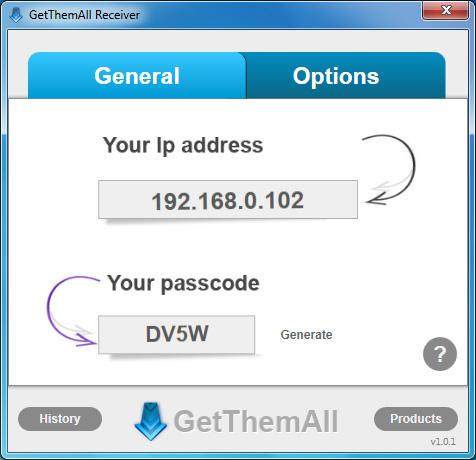 GetThemAll Receiver