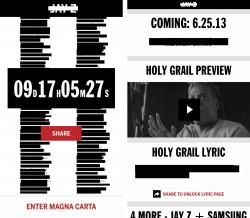 JAY Z Magna Carta - Pre-Launch
