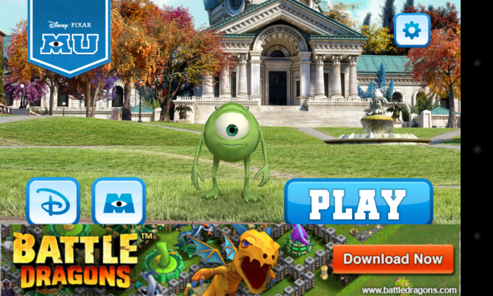 Monsters U: Catch Archie. Play addictive chase & run game from the movie!