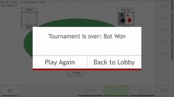 Neo Poker Bot - Bot Won