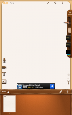 NoteLedge Note and Multimedia - Empty Canvas