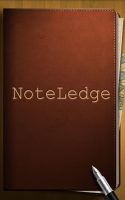 NoteLedge Note and Multimedia - Splash Screen