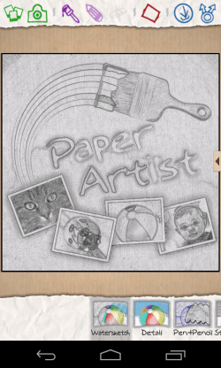 Paper Artist - Add all kinds of filters
