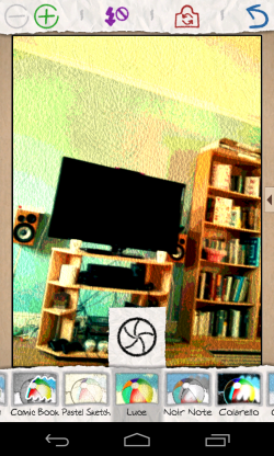 Paper Artist - Camera view