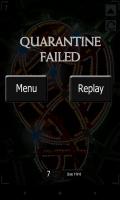 Quarantine London - Quarantine failed
