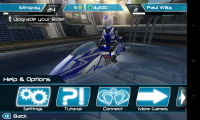 Riptide GP2 - Help and options