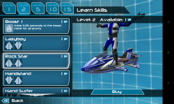 Riptide GP2 - Learn new skills