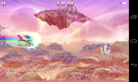 Robot Unicorn Attack 2 - Gameplay sample (7)