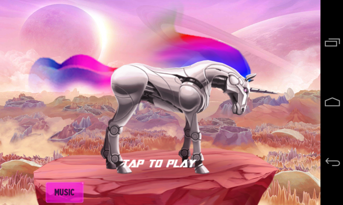 Robot Unicorn Attack 2 – play one of the most ridiculous games on Google Play!