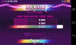 Robot Unicorn Attack 2 - Total score across three turns